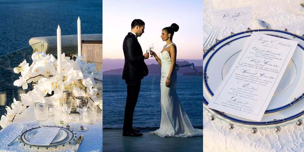 FINE LUXURY WEDDINGS IN GREECE