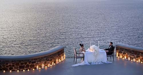 Image 36 of Intimate Wedding in Santorini