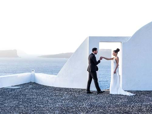 Image 29 of Intimate Wedding in Santorini