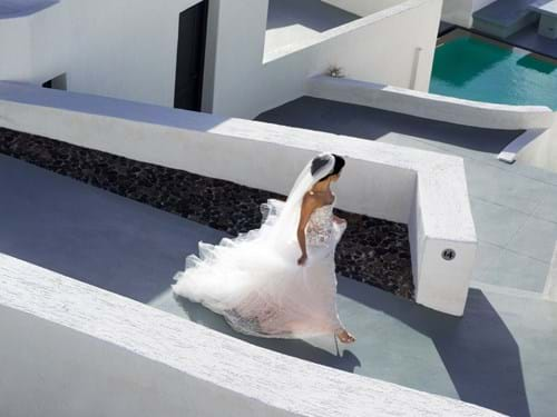 Image 23 of Intimate Wedding in Santorini