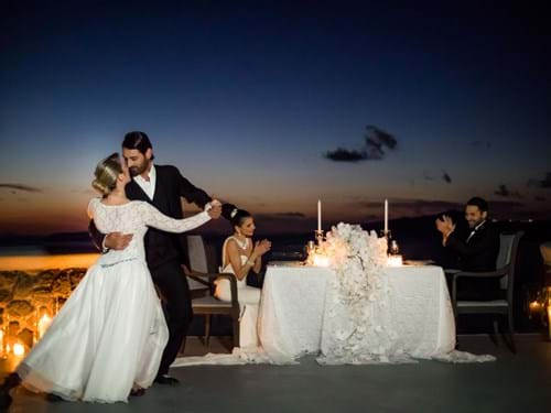 Image 11 of Intimate Wedding in Santorini