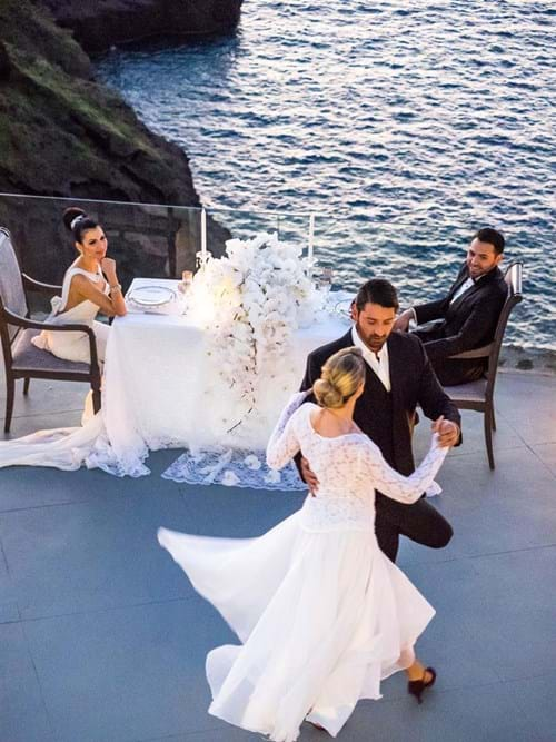 Image 21 of Intimate Wedding in Santorini