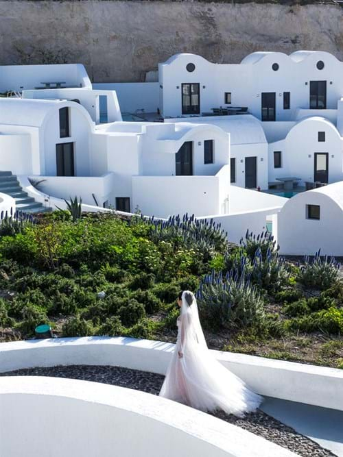 Image 31 of Intimate Wedding in Santorini
