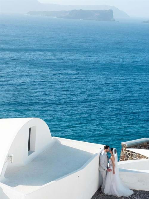 Image 14 of Intimate Wedding in Santorini