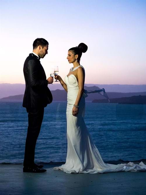 Image 32 of Intimate Wedding in Santorini