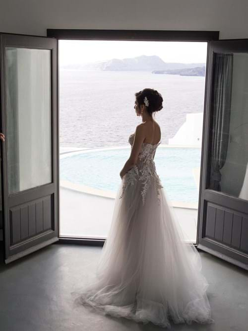 Image 18 of Intimate Wedding in Santorini