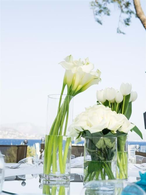 Image 33 of Iranian Chic White Wedding in Athens