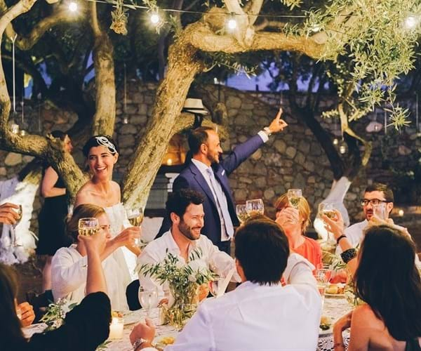 Romantic Wedding in Hydra