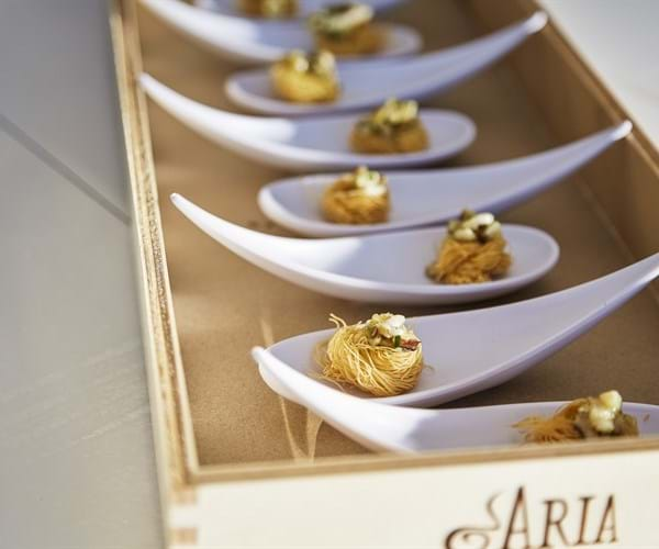 Aria Fine Catering Branded Experience
