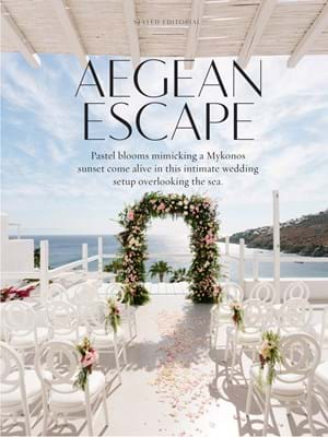 WedLuxe ST 2018 Aegean Escape