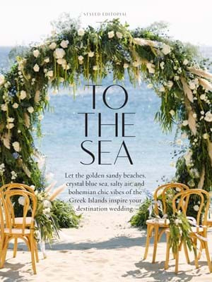 WedLuxe St 2018 To The Sea