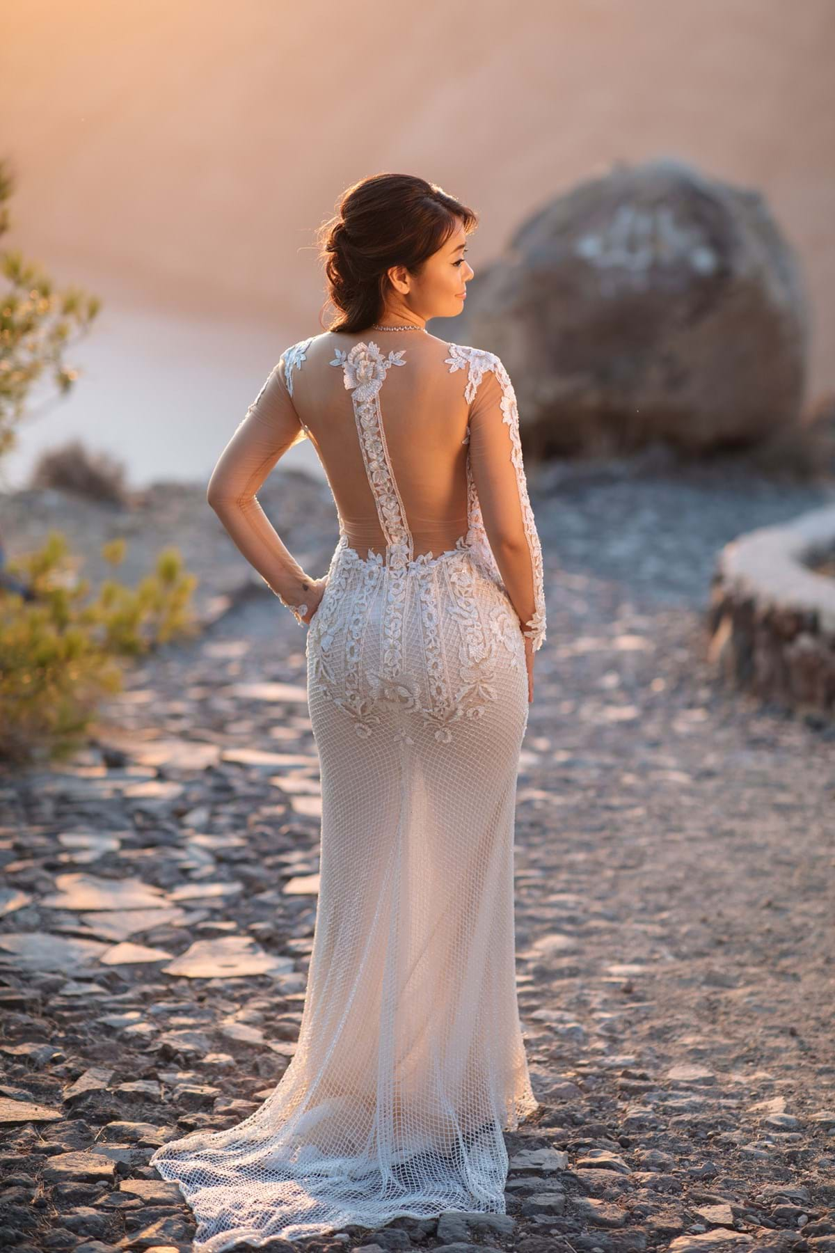 Destination Wedding Dress Inspiration for a Summer Soiree in Greece