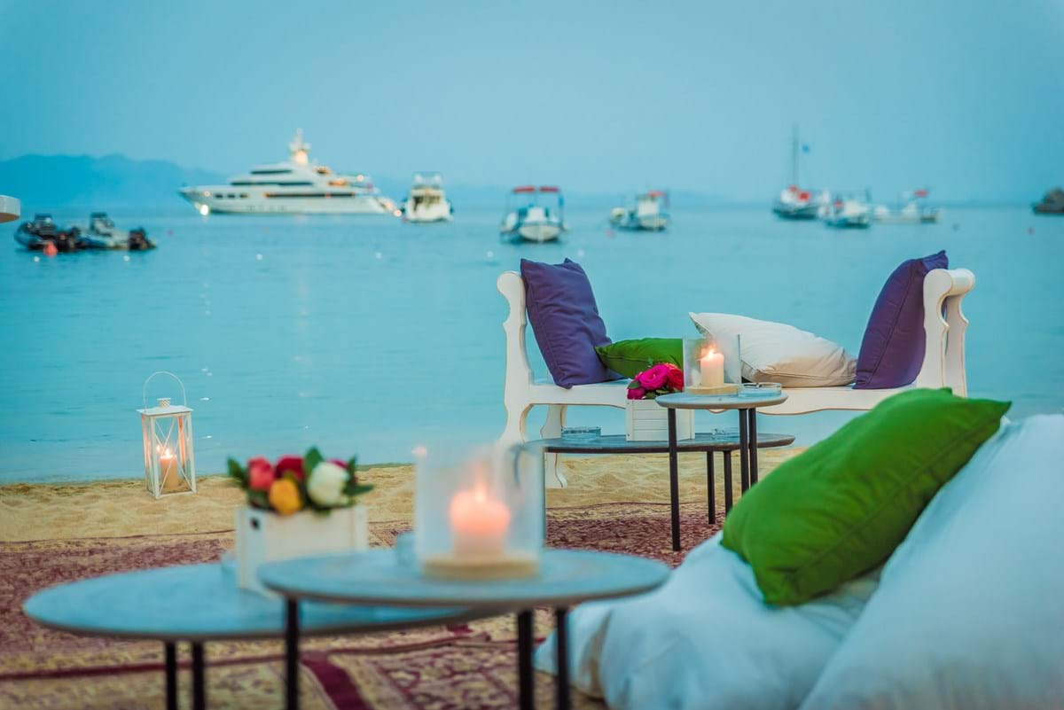 Luxury Lounge Wedding Anniversary Party at Nammos Mykonos