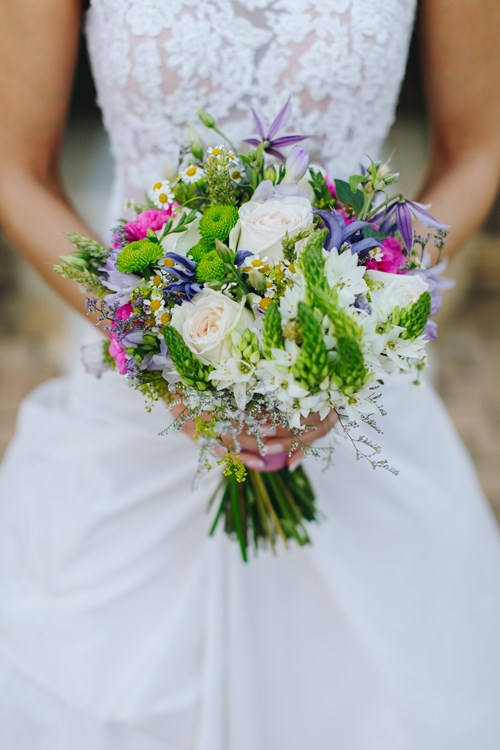 Image 24 of Lavender Spring Wedding in Athens