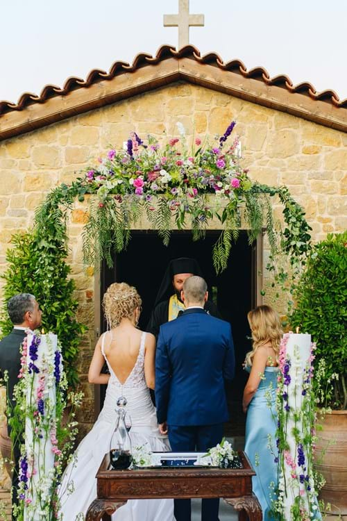 Image 25 of Lavender Spring Wedding in Athens