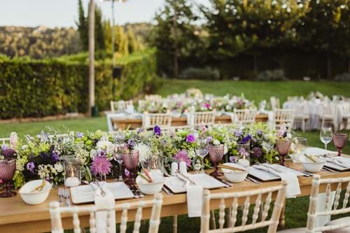 Image 50 of Lavender Spring Wedding in Athens