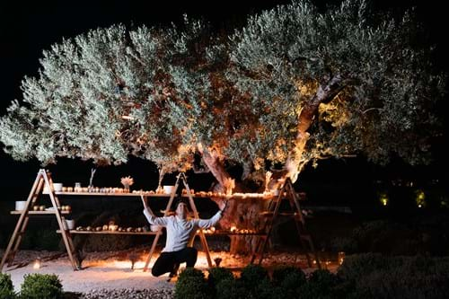 Image 30 of Avant-Garde Wedding In Porto Heli