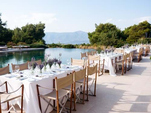 Image 6 of Pool Dinner At Aman Zoe In Porto Heli